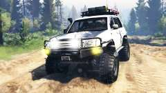 Toyota Land Cruiser 100 2000 [Samuray] v3.0 para Spin Tires