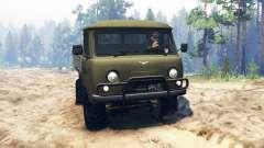 UAZ-452Д para Spin Tires