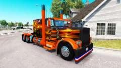Pele EUA Texas para o caminhão Peterbilt 389