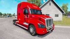 Pele Cavaleiro caminhão Freightliner Cascadia