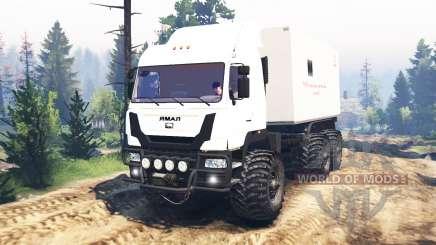 O Yamal-6 v2.0 para Spin Tires