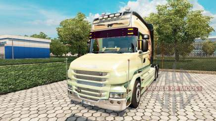 Scania T Longline [Free As A Bird] para Euro Truck Simulator 2