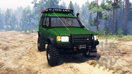 Land Rover Discovery v2.0 para Spin Tires