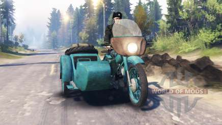 Ural M-62 v2.0 para Spin Tires