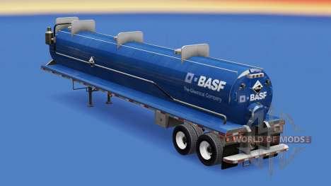 Pele BASF no tanque para gordos para American Truck Simulator