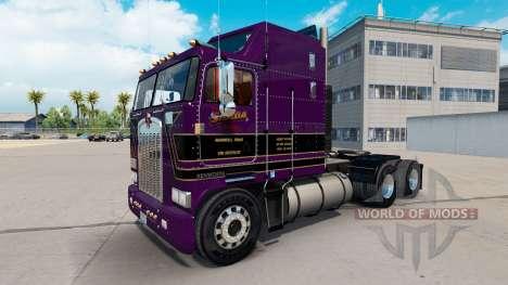 Conrad Shada pele para Kenworth K100 caminhão para American Truck Simulator