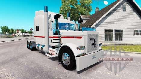 Pele de Nathan T Diácono para o caminhão Peterbi para American Truck Simulator