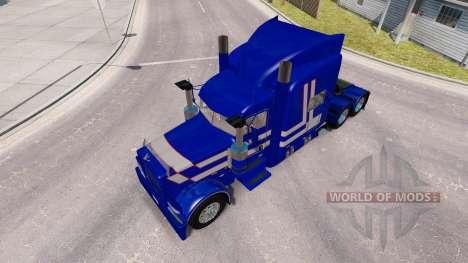 Pele o Mau Hábito para o caminhão Peterbilt 389 para American Truck Simulator