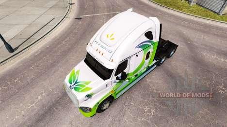 Pele HÍBRIDO trator Freightliner Cascadia para American Truck Simulator