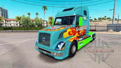 Skoal Bandido pele para a Volvo caminhões VNL 670 para American Truck Simulator