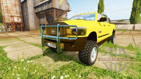 Dodge Ram 2500 Heavy Duty v2.0 para Farming Simulator 2017