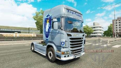 Simplesmente a pele para o Scania truck para Euro Truck Simulator 2