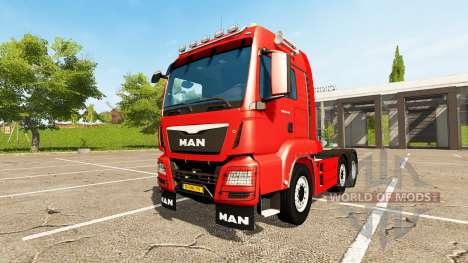 MAN TGS 18.440 6x4-4 para Farming Simulator 2017