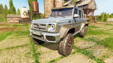 Mercedes-Benz G65 AMG 6x6 para Farming Simulator 2017