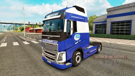 KLG pele para a Volvo caminhões para Euro Truck Simulator 2