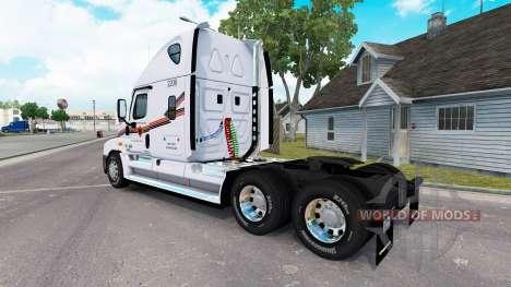 Pele METROPOLITANA de caminhão Freightliner Casc para American Truck Simulator