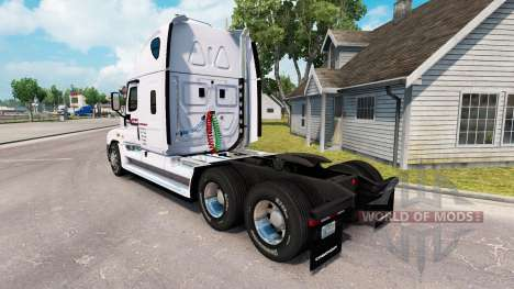 Скин P. A. M. de Transporte на Freightliner Casc para American Truck Simulator