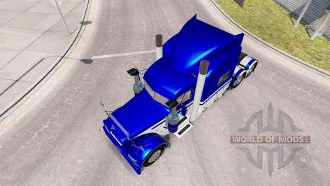 Pele Equipamentos Express caminhão Peterbilt 389 para American Truck Simulator
