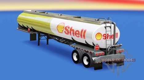 Pele Shell do tanque de combustível para American Truck Simulator