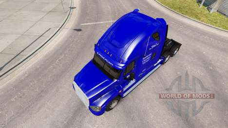 Скин Transportadora Nacional на Freightliner Cas para American Truck Simulator