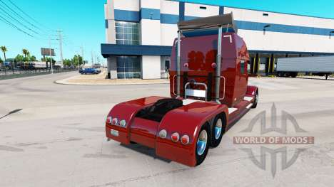 Concept truck 2020 Raised Roof Sleeper para American Truck Simulator