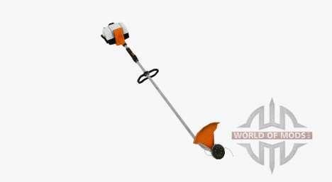 Manual de cortador de grama a gasolina para Farming Simulator 2017