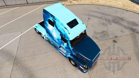 Fogo de pele para a Volvo caminhões VNL 670 para American Truck Simulator