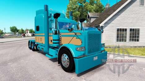 Скин Johnson Gado LLC на Peterbilt 389 para American Truck Simulator