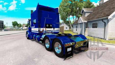 Скин Jack C. Musgo De Camionagem Inc. на Peterbi para American Truck Simulator