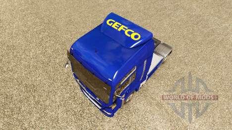 Pele Gefco para trator HOMEM para Euro Truck Simulator 2
