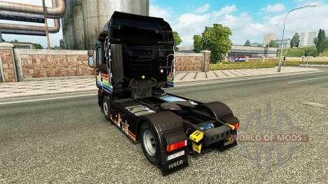 Rainbow Dash pele para Iveco unidade de traciona para Euro Truck Simulator 2