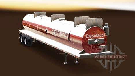 A pele da ExxonMobil no tanque para gordos para American Truck Simulator