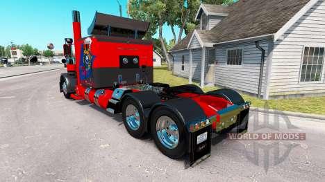 Pele Nevada EUA para o caminhão Peterbilt 389 para American Truck Simulator