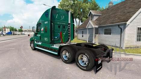 Para a pele do INTERESTADUAL de caminhão Freight para American Truck Simulator