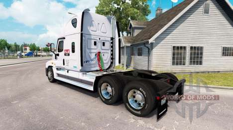 Скин P. A. M. Transport2 на Freightliner Cascadi para American Truck Simulator