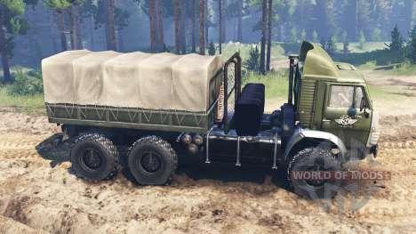KAMAZ-4310 para Spin Tires