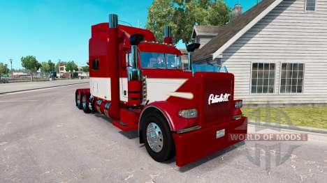 Скин Rethwisch de Transporte LLC на Peterbilt 38 para American Truck Simulator