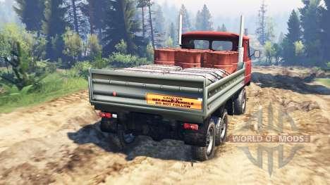 UAZ-33036 6x6 v2.0 para Spin Tires