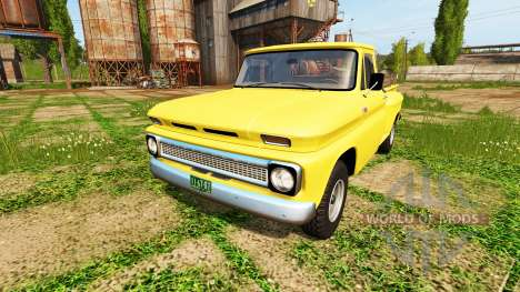 Chevrolet C10 Fleetside 1966 4x4 para Farming Simulator 2017