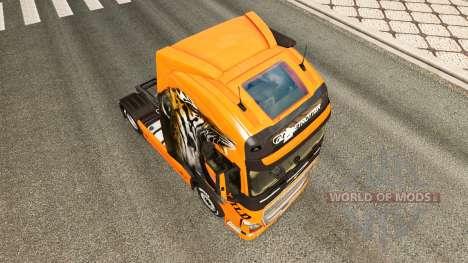 Selvagens de pele para a Volvo caminhões para Euro Truck Simulator 2