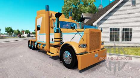 Para a pele do Chade Blackwell Peterbilt 389 trator para American Truck Simulator