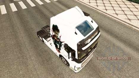 Hannibal a pele para a Volvo caminhões para Euro Truck Simulator 2