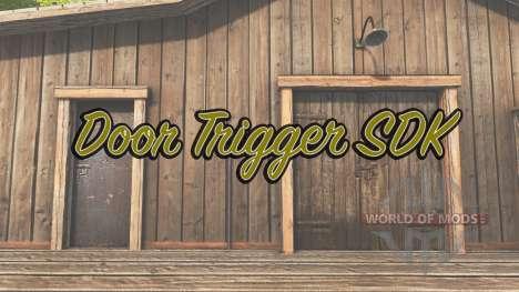 Door Trigger SDK para Farming Simulator 2017
