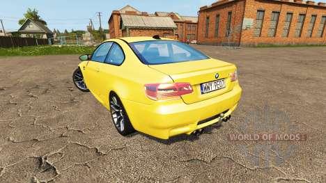 BMW M3 (E92) para Farming Simulator 2017