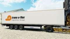 Pele Trans-o-flex caminhão de cargas reefer