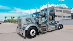Pele Viking para o caminhão Kenworth W900
