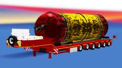 Baixa varrer com um tanque de carga