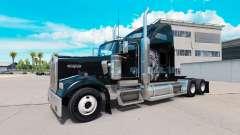 Pele Redskin v1.2 no caminhão Kenworth W900