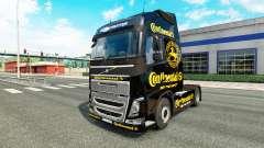 Continental pele para a Volvo caminhões