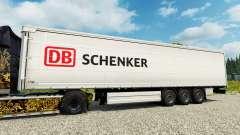 DB Schenker pele para engate de reboque